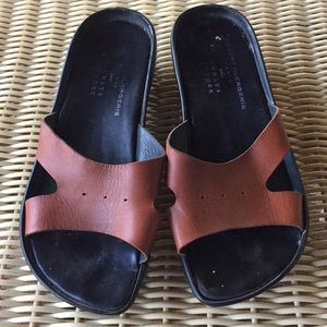 Robert Clergerie Brown Leather Sandals